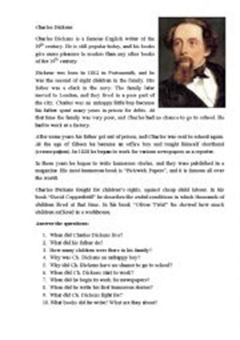 charles dickens biography video worksheet english teaching worksheets charles dickens