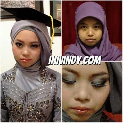 ini vindy yang ajaib makeup natural dan tutorial hijab ini vindy yang ajaib rias makeup natural dan hijab wisuda