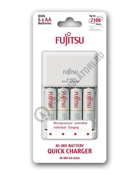 Powerbank Fujitsu 1900 Mah incarcator fujitsu include 4 acumulatori aa 1900 mah fct344cefx cl
