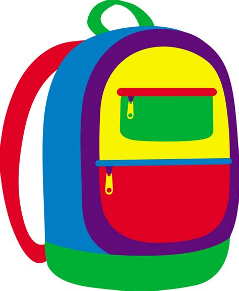 backpacking packs backpack clipart clipartion