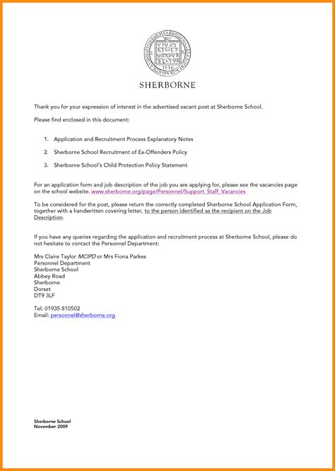 Sle Cover Letter Of Interest sle cover letter of interest 28 images letter of