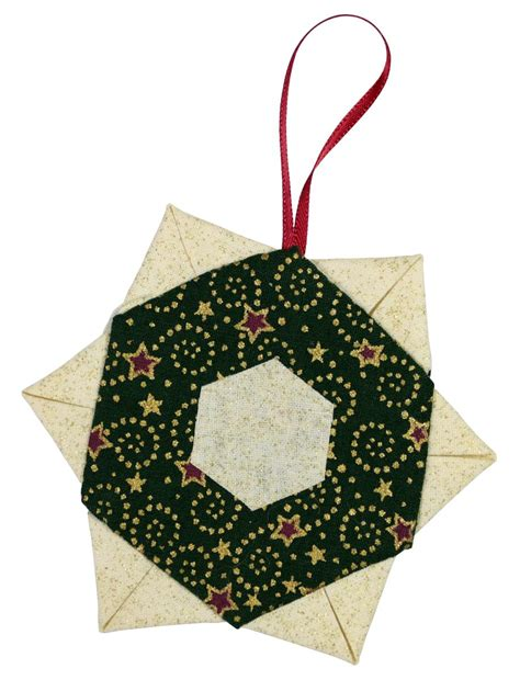 Patchwork Decorations - tree decorations make patchwork