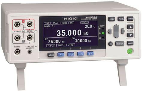 Meteran Karet Viper 5 Meter Measuring hioki rm3544 dc resistance meter with temperature correction tequipment net
