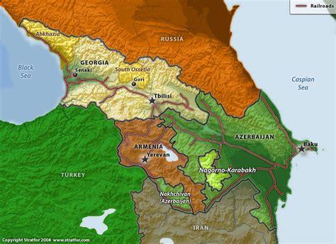 russia map azerbaijan turkey and russia should take lead in resolving nagorno