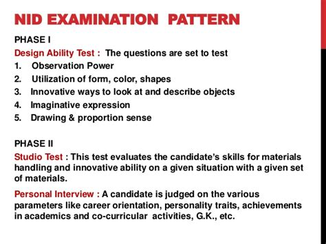 design pattern exam questions nid nift ceed entrance exam paper pattern syllabus