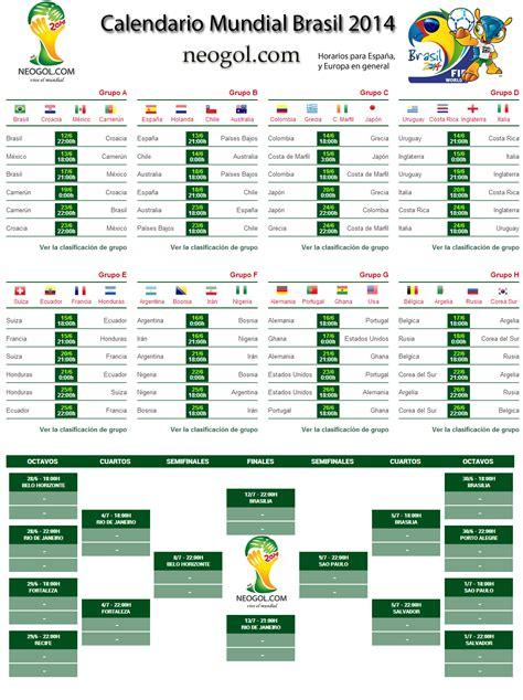 Calendario Fifa Almanaque Mundial Brasil 2014 Todo El Calendario