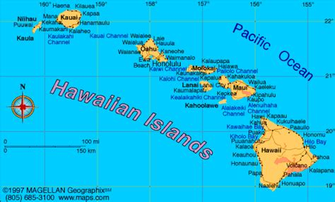 map of the united states and hawaii map of hawaii became the 50th state on august 21 1959