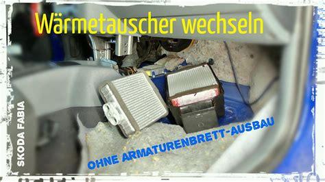 Audi A6 4f Klimaanlage Heizt by W 228 Rmetauscher Der Heizung Wechseln Ohne Armaturenbrett