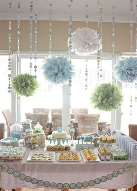 beautiful totally doable baby shower decorations