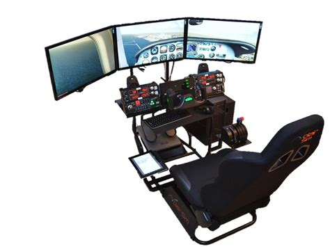 Ultimate Computer Workstation by Volair Sim Flight Racing Cockpit Review