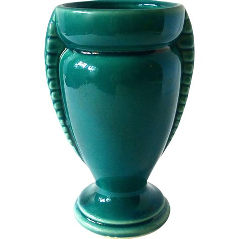 Small Teal Vase Deco Teal Blue Usa Small Vase From Bejewelled On Ruby