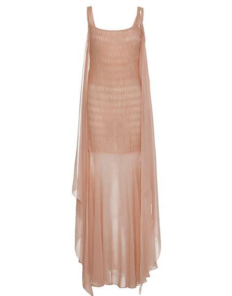 1920s 30s blush pink length dress size 12 vintage