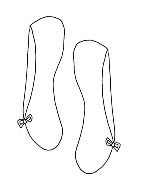 ballerina slippers coloring pages pictures of ballet shoes to color style guru fashion
