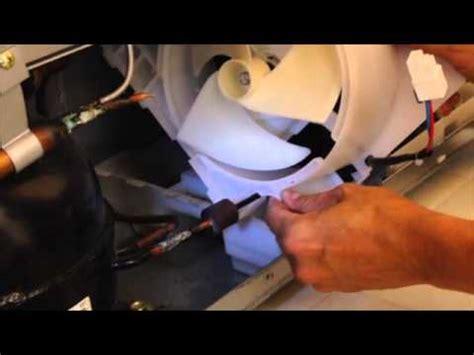 fridge fan noise refrigerator condenser fan replacement aka noisy
