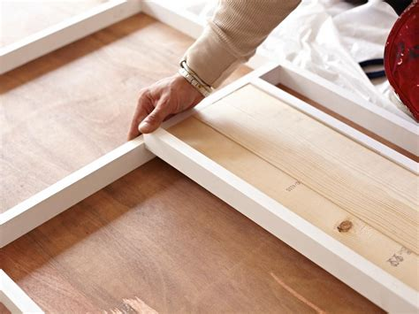Diy Build Kitchen Cabinets by How To Build And Install A Sliding Door How Tos Diy