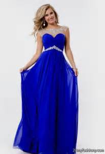 You can share these dark blue prom dresses with straps on facebook