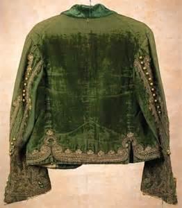 vintage green velvet jacket bohemian