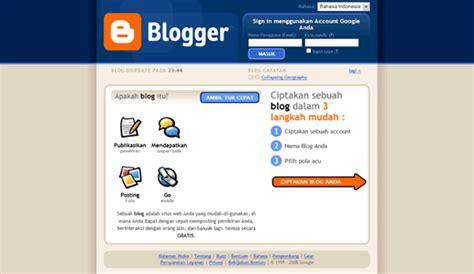 membuat blog berbayar membuat blog pada blogger internet online