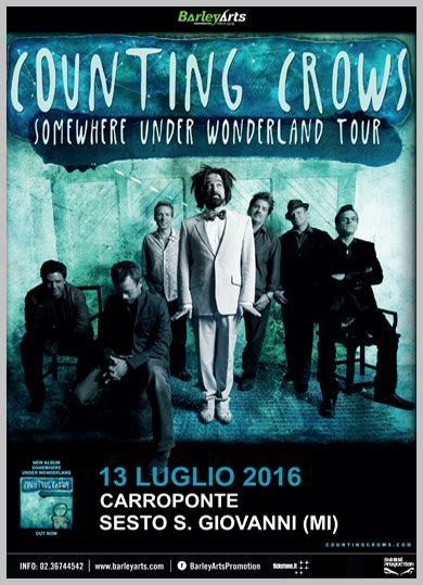testo counting italiano counting crows live club