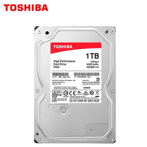 Hardisk Toshiba 1tb 7200rpm toshiba high performance 1tb drive disk 1000gb hdd 3 5 quot desktop pc computer hd