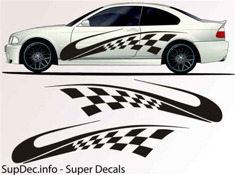 Auto Body Decals by Vinyl Auto Body Graphics Exterior Outside Decal Sticker B726