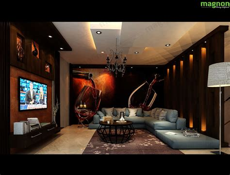 entertainment room  magnon india  interior