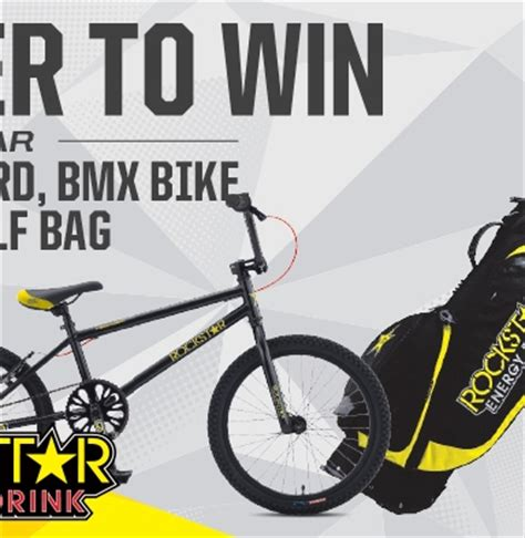 Snowboard Sweepstakes - rockstar and green valley snowboard bmx bike golf bag sweepstakes rockstar energy drink