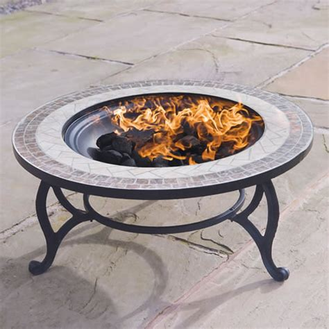 firepit bbq outdoor garden tiled coffee table pit bbq barbecue