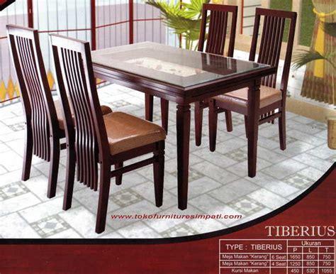 Meja Makan Di Yogyakarta meja makan kursi makan dining table meja makan minimalis