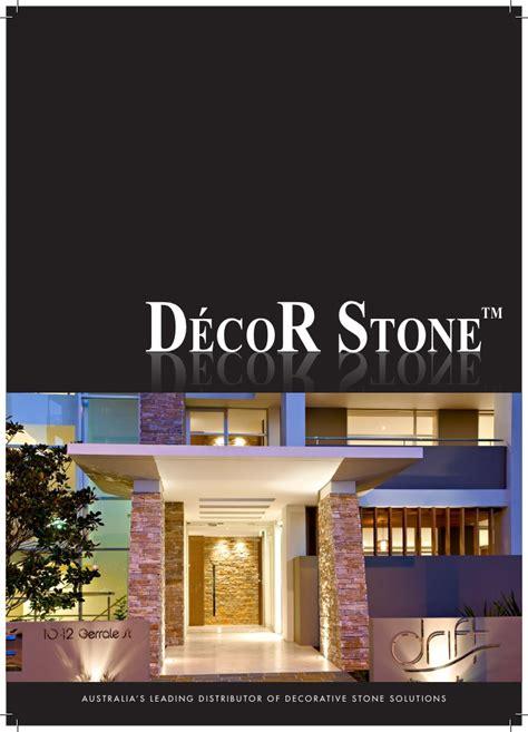 home decor brochure decor stone brochure