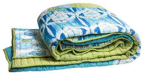 organic quilts and coverlets medallion twin coverlet blue green eclectic quilts and