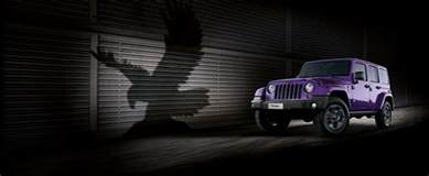 Who Makes Jeep Jeep Makes The Legendary Wrangler Purple For The