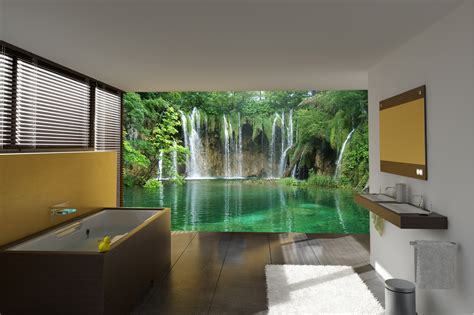 unique bathroom wall murals with additional home