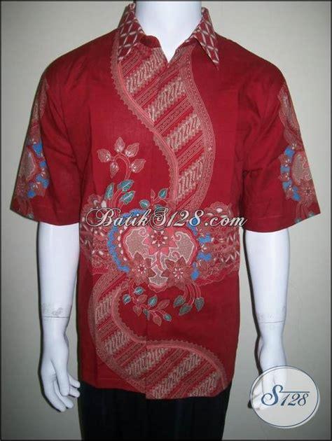 Hem Kemeja Batik Eklusif Pari kemeja batik eksklusif elegan hem batik tulis pria warna
