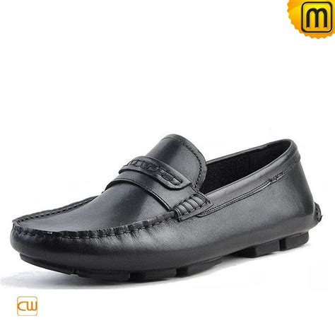 mens leather loafers driving shoes cw740306