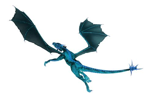 Gamis Fowly Blue great pictures of cool dragons