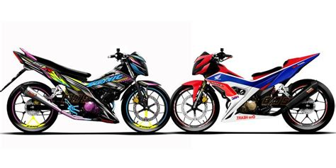 majalah otomotif modifikasi motor modifikasi honda sonic 150 r ala bintang motor sport