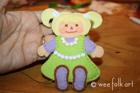 rag doll workshop santa s workshop rag doll ornament wee folk