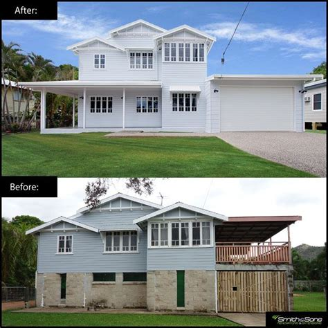 queenslander renovation this renovation involved a house
