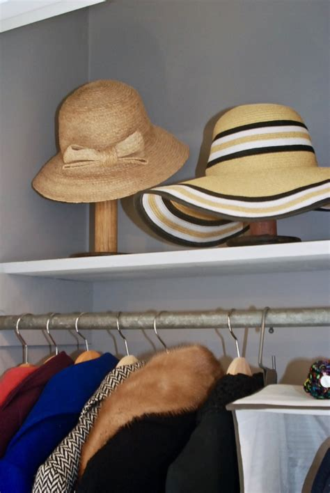 Hat Closet by 5 Steps To Makeover Your Entryway Closet Pender Peony