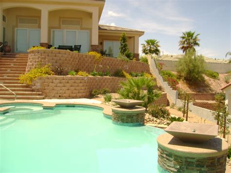 las vegas backyard las vegas landscaping dream portfolios desert springs