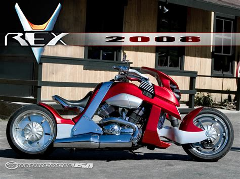 2008 Travertson V Rex First Ride   Motorcycle USA