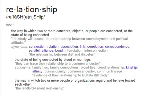 Define Relationship How To Understand The Word Relationship Quora