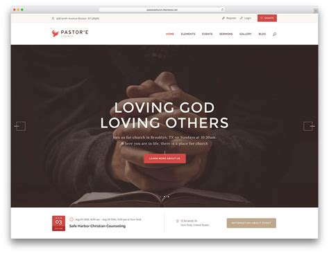 website templates for youth ministry 20 best wordpress church themes for parishes churches and