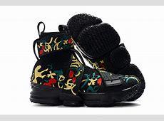 "2018 KITH x Nike LeBron 15 Lifestyle ""King's Crown"" Black ... Jordans Shoes Men"