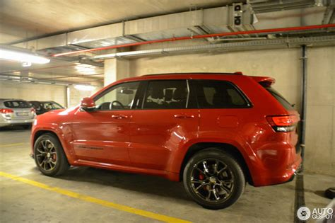 red jeep 2016 jeep grand cherokee srt 8 2014 red vapor edition 26 may