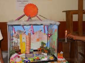 Prepared for science exhibition in school