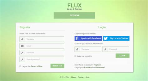 jquery registration form template 15 best html5 web form templates designmaz