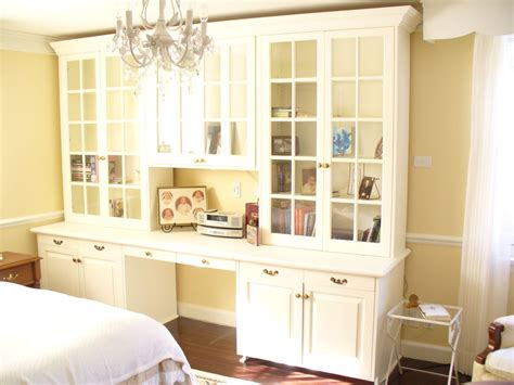 Small Narrow Kitchen Ideas hand crafted library bookcase with office desk and storage
