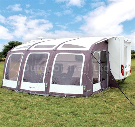 caravan porch awnings on ebay outdoor revolution esprit 420 inflatable air caravan porch